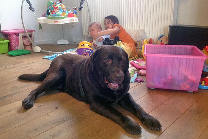 Jessie z dziećmi