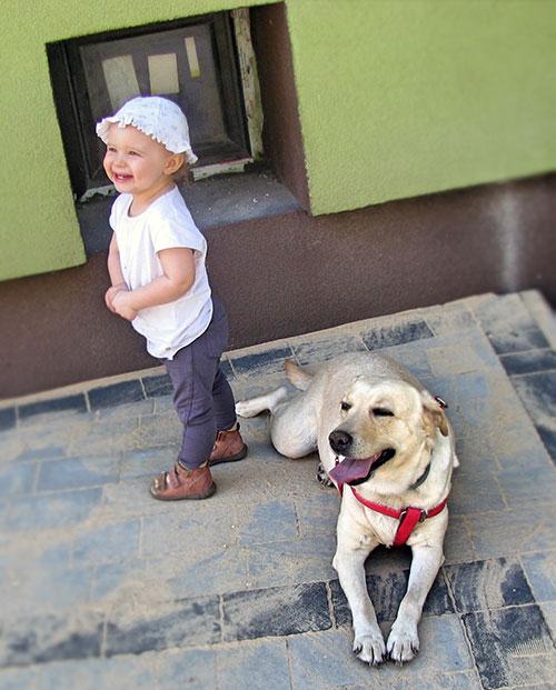 Sonia lubi dzieci