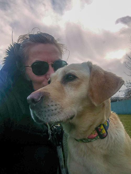 Labradorka Gaja do adopcji